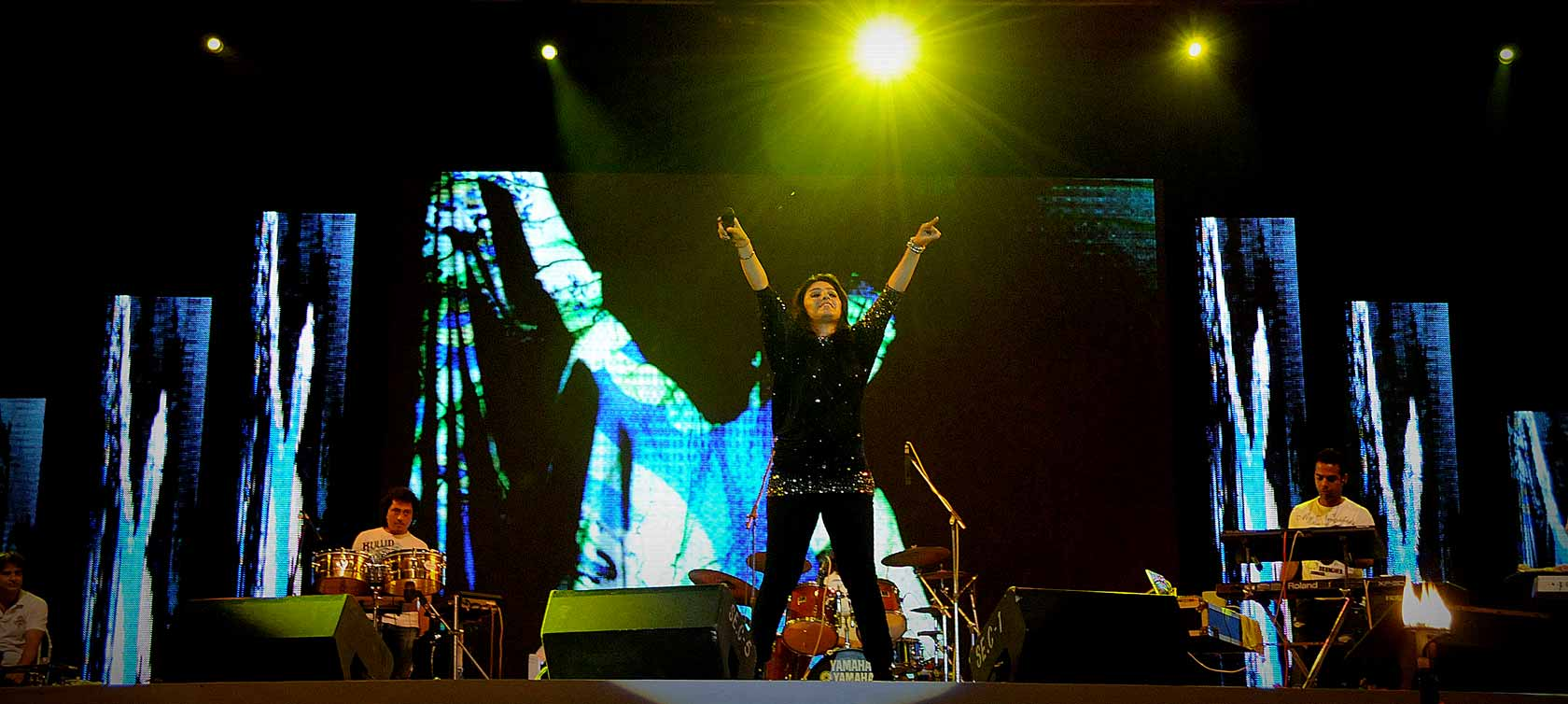 Sunidhi Chauhan Live In Concert, Pune
